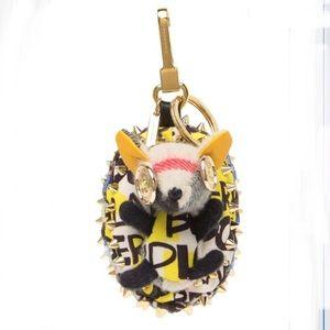 Burberry Hedgehog Key charm NEW AUTHENTIC W BOX